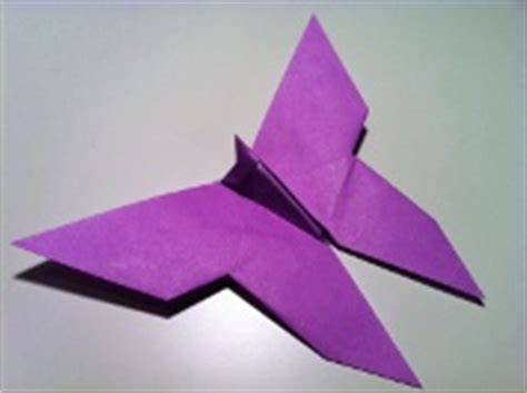 Origami Flapping Butterfly - how to make origami animals