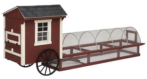 Handcrafted Chicken Coops - chicken coops amish handcrafted roll easy