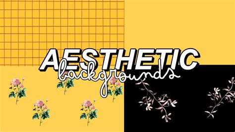 aesthetic backgrounds  youtube