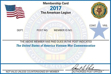 american id card template print your membership card