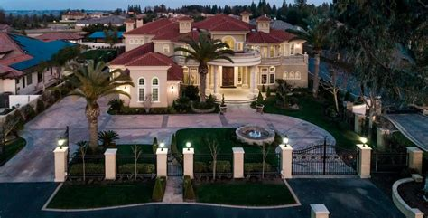 mediterranean style mansion in fresno california homes