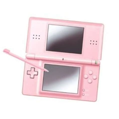 nintendo ds pink console nintendo ds lite pink