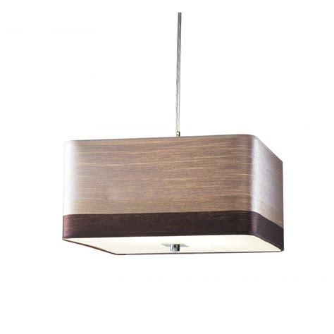 brown pendant light redruth red1755 3 light pendant 600mm brown mocha