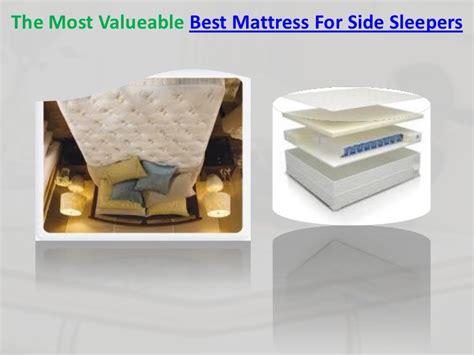 best mattress for side best mattress for side sleepers