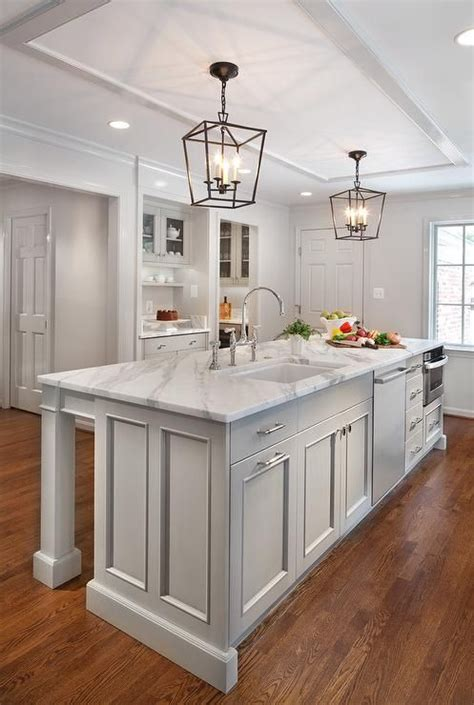 grey kitchen island best 25 gray island ideas on gray and white