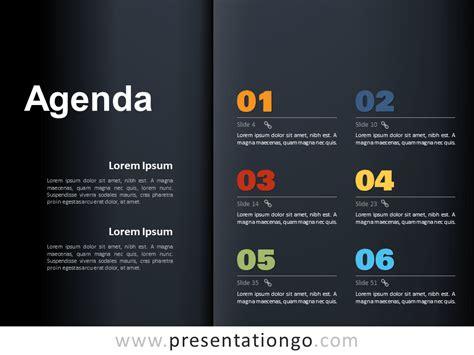 agenda template  powerpoint  google