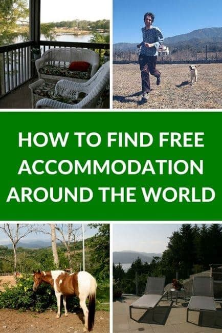 How To Find Around The World How To Find Free Accommodation Around The World