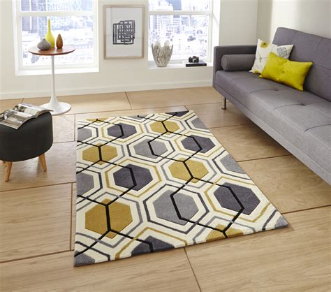 hong kong home decor hong kong hexagon rug 100 acrylic hand tufted large