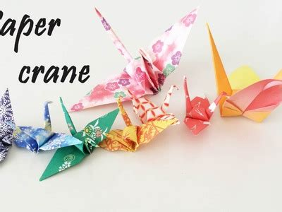 Crane Origami Tutorial - origami how to make a origami turkey how to make origami