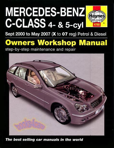 service and repair manuals 2010 mercedes benz c class electronic throttle control shop manual mercedes c class service repair haynes c180 c220 c270 ebay