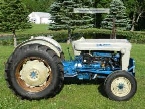4000 Ford Tractor 1963 Ford 4000 Tractor Gas Power Steering