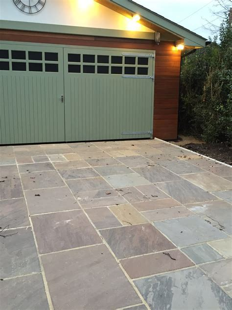 Indian Patio Slabs by Autumn Brown Indian Sandstone Paving Slabs