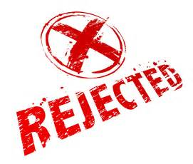 how to deal with rejection without review max bingham