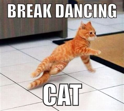 Dancing Cat Meme - break dancing cat meme by asianplatypus6 on deviantart