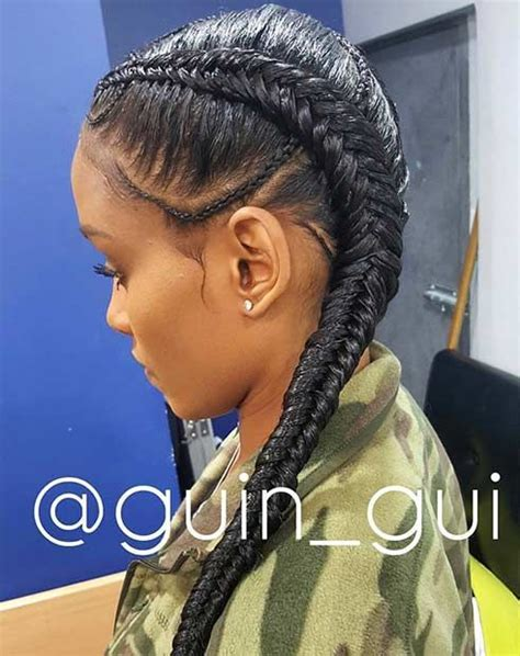 french braided weave 31 cornrow styles to copy for summer cornrows fishtail