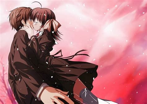 anime kiss missing beats of life happy kiss day 13th february 2014