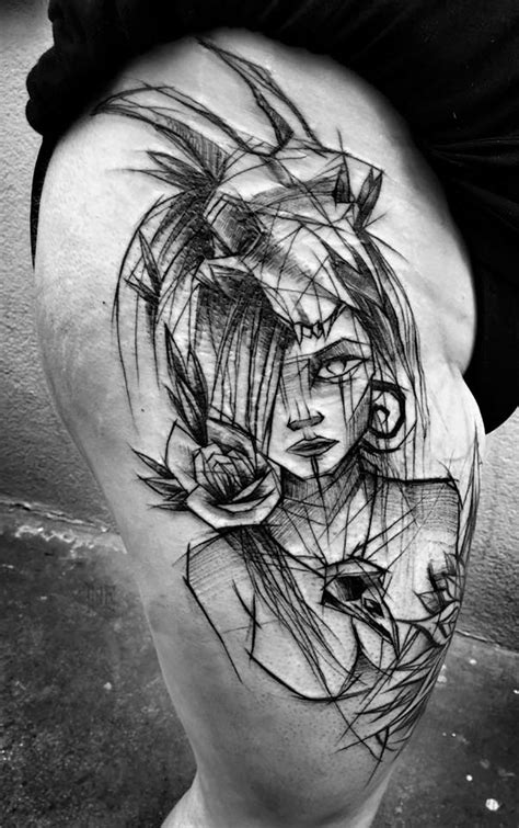 sketches tattoo artist shows the of imperfection with