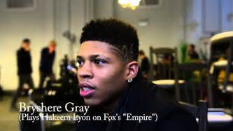 hairstyles on empire tv show bryshere gray portrays hakeem lyon on fox television s