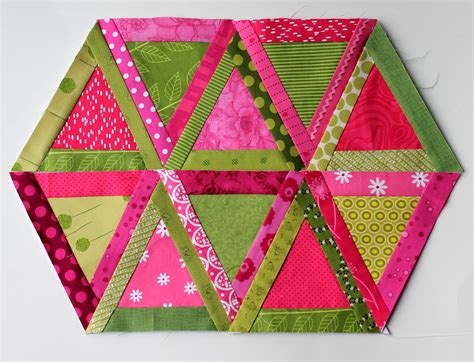 How To Quilt Triangles by Triangle Quilt Block Wombat Quilts