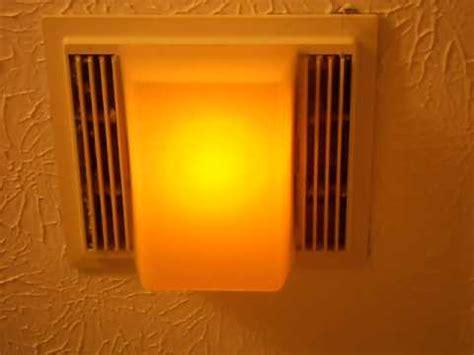 how to remove a nutone bathroom fan my nutone 663lnb exhaust fan youtube