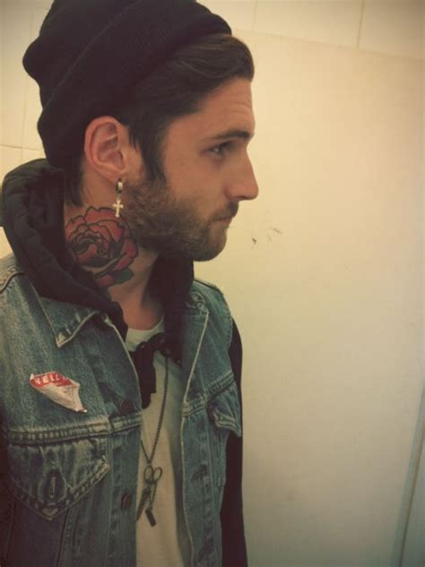 tattoo on neck boy 115 best images about earrings on pinterest plugs