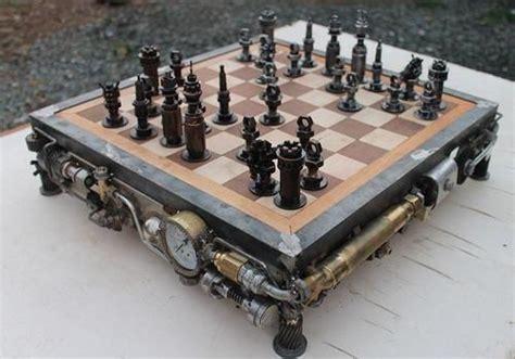 Table Metal Bois 4591 by Ram Mallari Jr Steunk