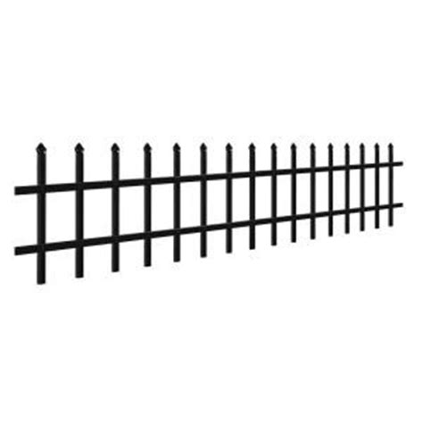 puppy guard fence 3 4 in x 1 1 2 ft x 6 ft aluminum black puppy guard add on panel
