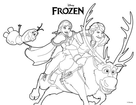frozen color sheets printable frozen coloring pages only coloring pages