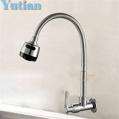 cheap kitchen faucets free shipping hot sell free shipping brass cold kitchen faucet single