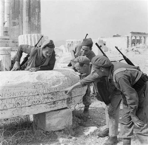 army sections 6 december 1944 british troops begin to intervene in greece