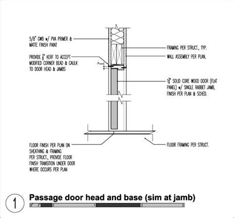 Trim Baseboard by The Modern Door Jamb Build Blog