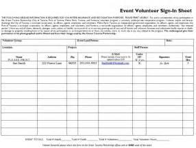 free volunteer sign in sheet template 10 free sle volunteer sign in sheet templates