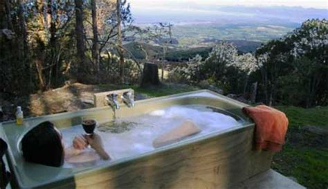 outdoor bathtub outdoor bathtub with a view bath pinterest