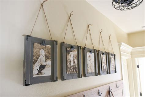 how to hang a picture frame diy hanging frames and youtube video shanty 2 chic