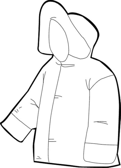 coloring page winter jacket winter jacket coloring page coloring pages