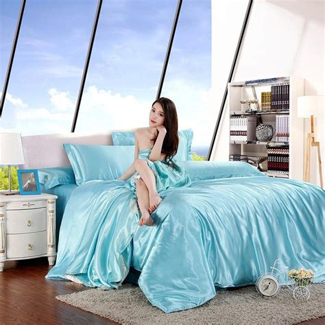 Cheap Silk Bed Sets Cheap Luxury Bedding Sets Silk Quilt Duvet Cover Sets King Size Bedding Sets Many