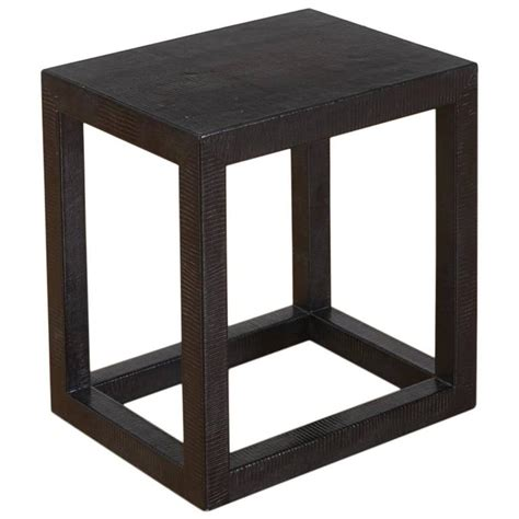 cube table l snakeskin cube table for sale at 1stdibs