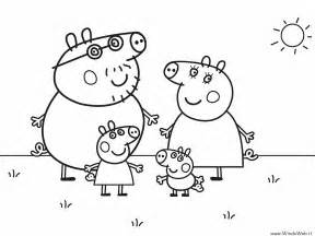 free coloring pages peppa pig grandpapi pig