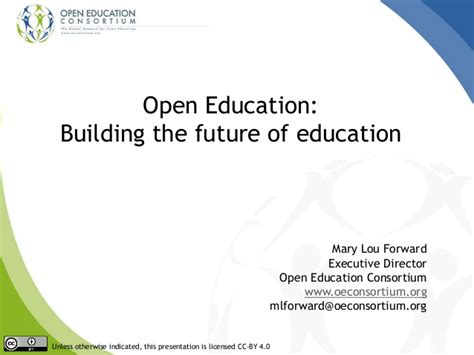 Uwl System Mba Consortium by Open Education Building The Future Of Higher Ed