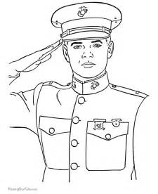 veterans day history coloring pages