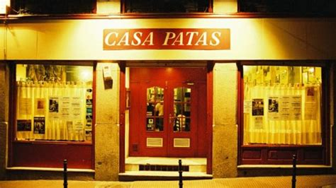 casa patas madrid casa patas in madrid restaurant reviews menu and prices