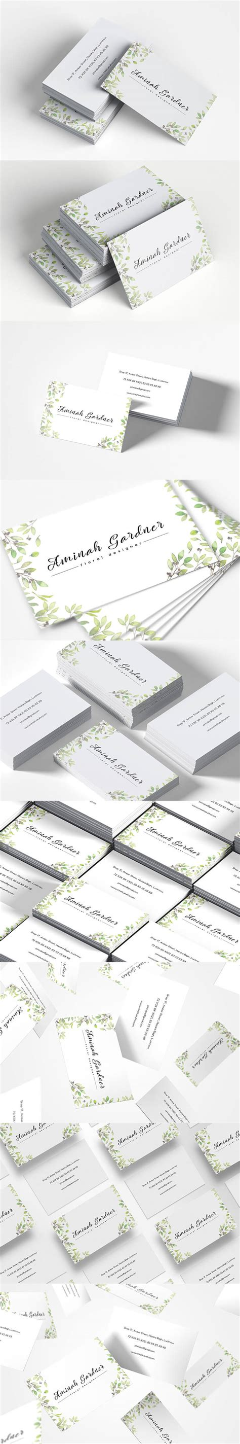 300 Dpi Business Card Template Pixels by Free Floral Designer Business Card Template Creativetacos