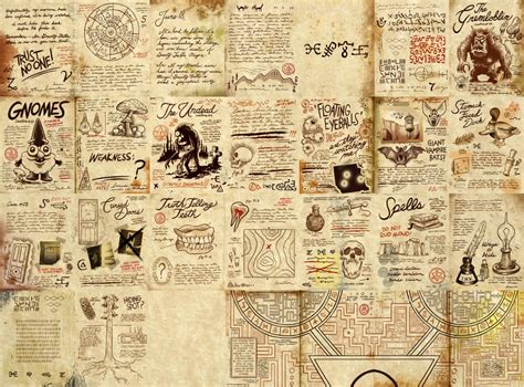 Printable Journal Pages Gravity Falls | mystery shack com a gravity falls forum recreation of