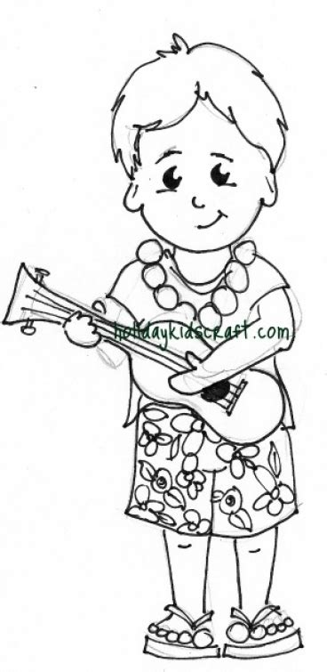 hawaiian boy coloring page hawaii coloring pages for boys hawaii best free coloring