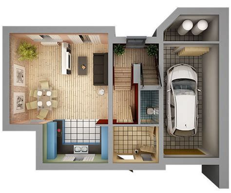 home interior plans 3d model home interior floor plan 01 cgtrader