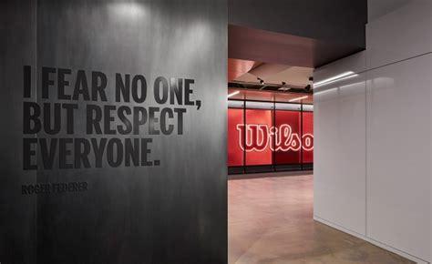 wilson sporting goods office  gensler chicago illinois