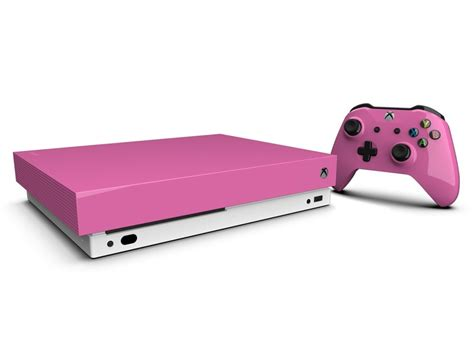 Painting Xbox One X by Deck Out Your Xbox One X With A Custom Skin Or Paint