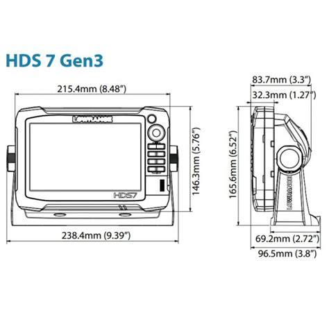 lowrance hds 7 gen3 wiring diagram lowrance hds gen2