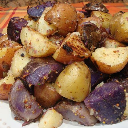 tri color potatoes grilled tri color potatoes hearth home magazine