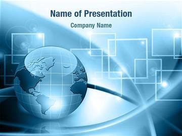 powerpoint templates free world globe in blue colors powerpoint templates globe in blue